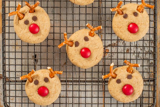 Biscuits au beurre d'arachide «petits rennes» Image 1