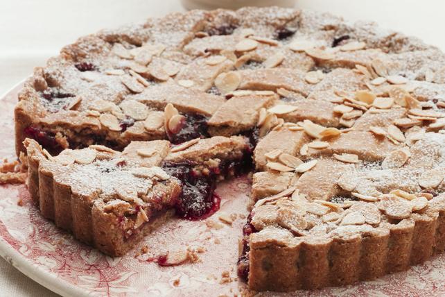 Raspberry Linzer Torte Image 1