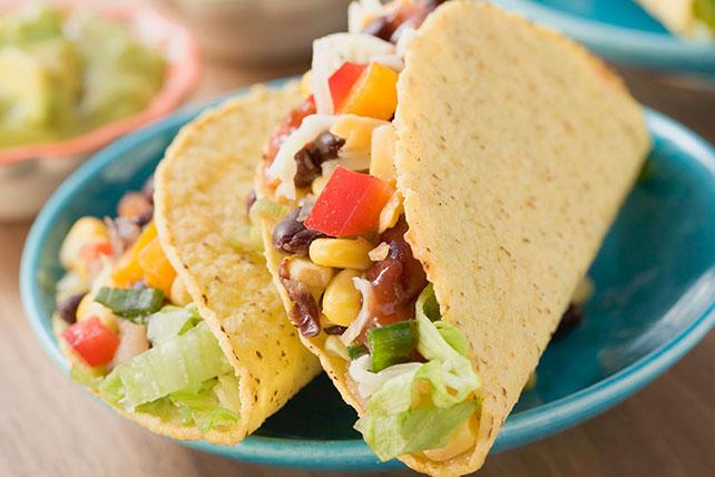 Crispy Vegetarian Tacos Image 1