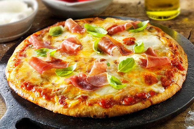 Easy Prosciutto Basil Pizza Image 1