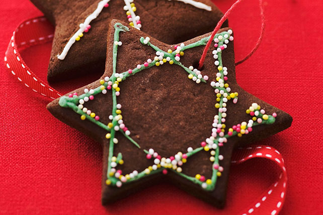 Chocolate Star Cookies Image 1