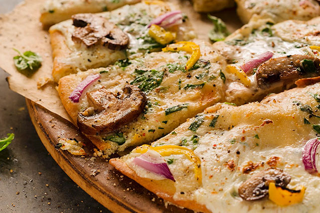 Triple Veggie Pizza Image 1