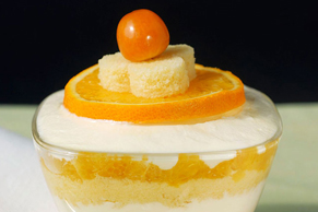 Mini Orange Trifles
