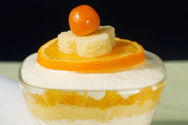 Mini Orange Trifles Image 1