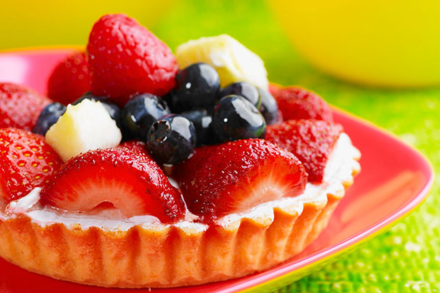 Mini Vanilla Custard Fruit Tarts Image 1