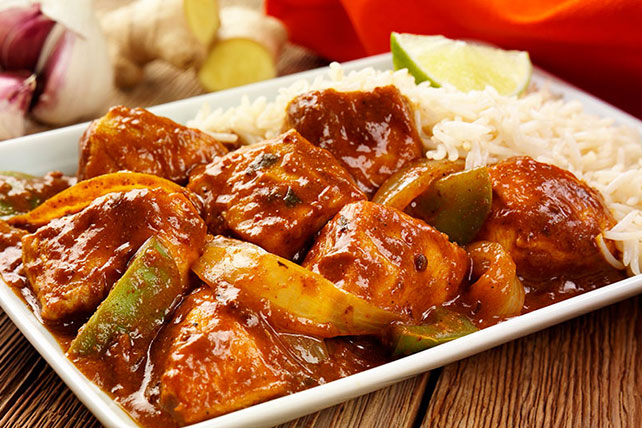 Sweet 'n Sour Chicken and Peppers Image 1