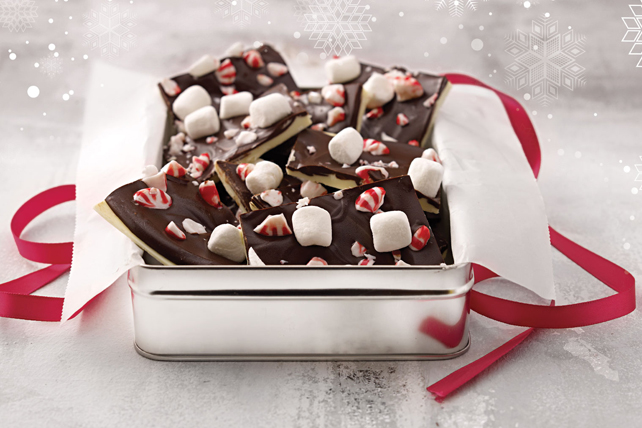 Peppermint-Marshmallow Bark Image 1