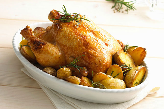 Rosemary Lemon Chicken with Oven-Roasted Potatoes Recipe - Kraft ...