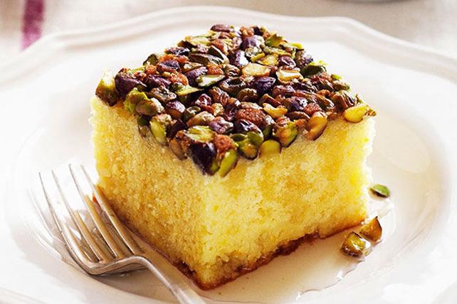 Gâteau fruité au citron et aux noix Image 1