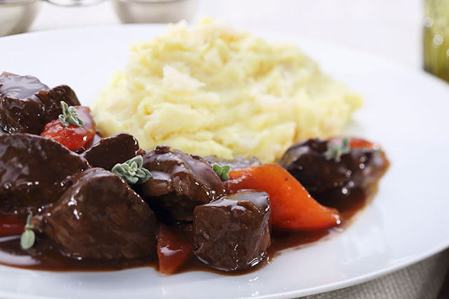 Beef Stew with Mashed Potatoes Image 1