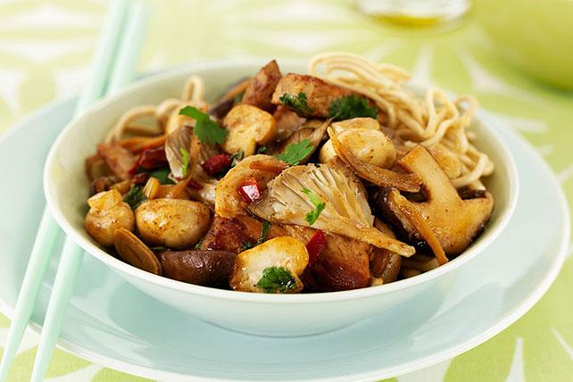Stir-Fried Pork and Mushrooms Image 1