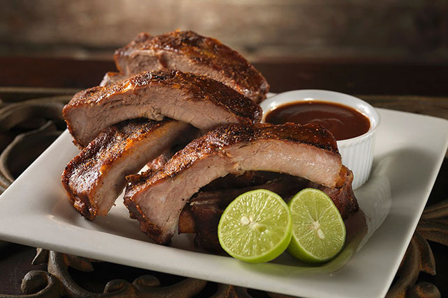 Chipotle and Honey Glazed Ribs Image 1