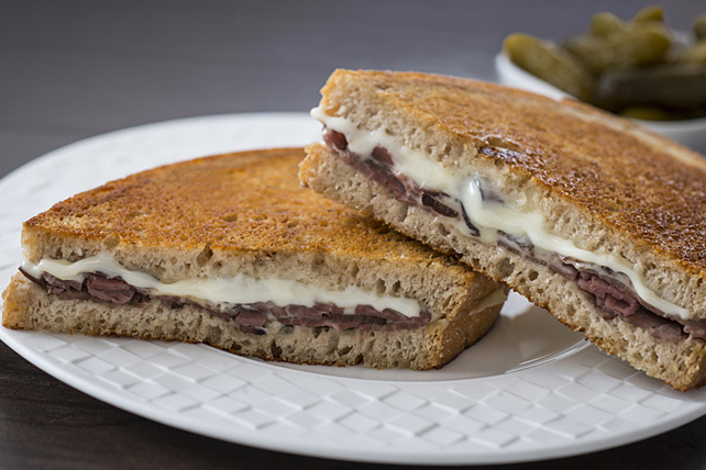 Classic Roast Beef Grilled Cheese Image 1
