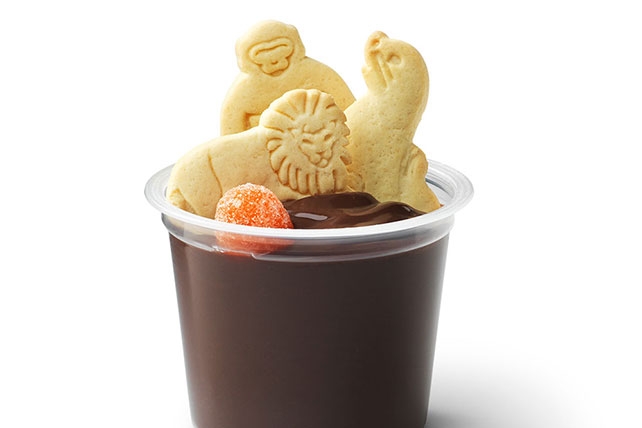 Animal Cracker Pudding Snacks Image 1
