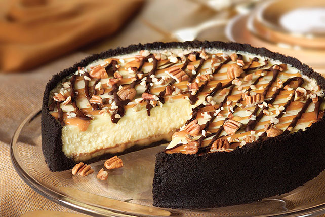 Ultimate Turtle Cheesecake Image 1