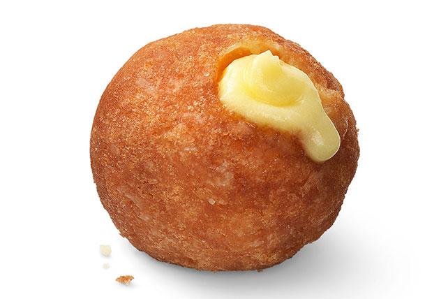 Pudding-Filled Donut Holes Image 1