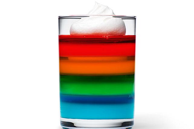 JELL-O Rainbow Cups Image 1