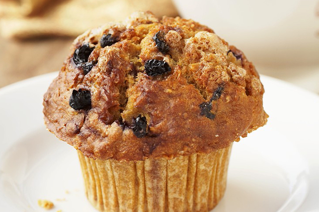 Banana, Raisin and Bran Muffins Image 1