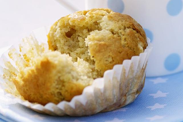 Muffins à l'avoine et aux bananes Image 1