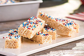 Red, White & Blue RICE KRISPIES® TREATS™