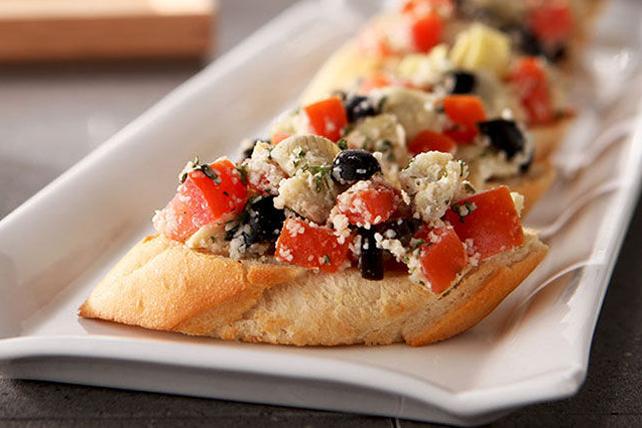 Bruschettas aux olives et aux tomates Image 1