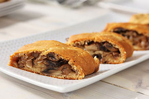 Cheesy Mushroom Crescent Roll Appetizer