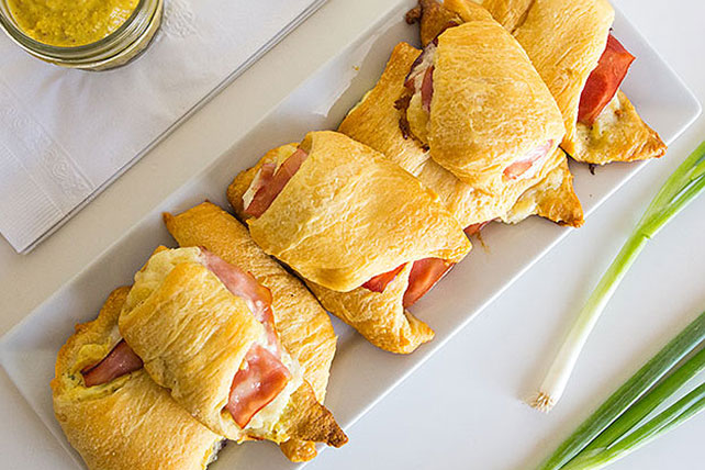 Ham and Pineapple Crescent Rolls Image 1