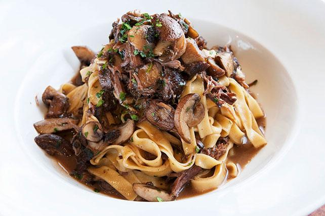 Beef Short Ribs & Mushroom Pasta Image 1