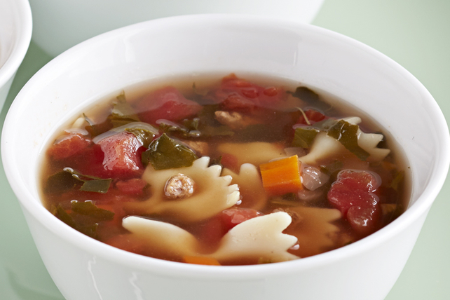 Soupe minestrone éclair Image 1