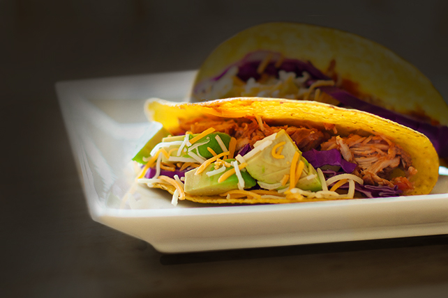 Slow-Cooker Pulled Pork Tacos Image 1