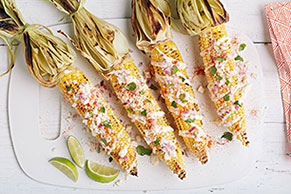 Grilled Mexican Corn Recipe