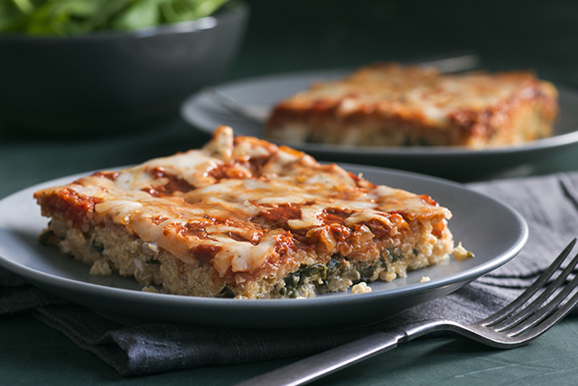 "Spinach and Ricotta Quinoa ""Lasagna"" Image 1"