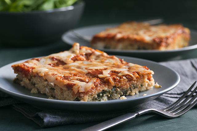 «Lasagne» aux épinards, au ricotta et au quinoa Image 1