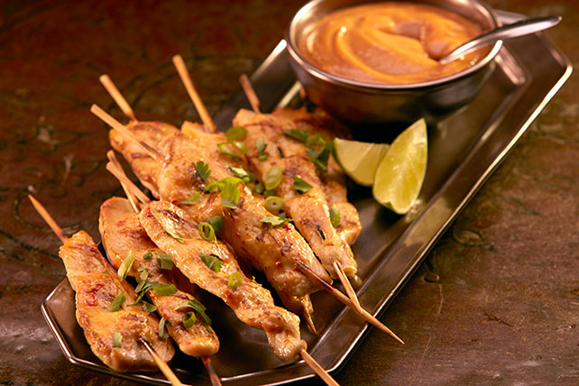 Sweet Chili Garlic & Peanut Satay Image 1