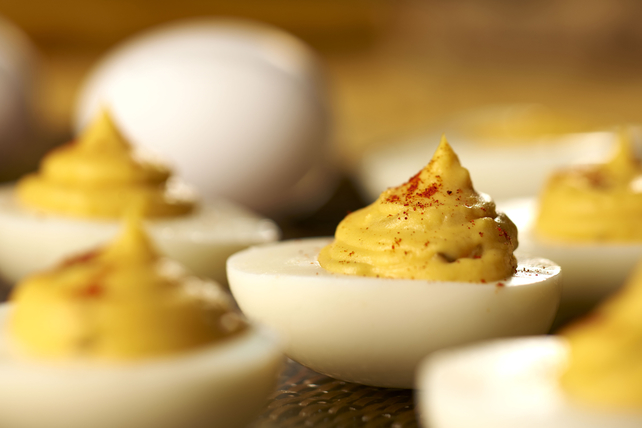 Creamy Devilled Eggs Image 1