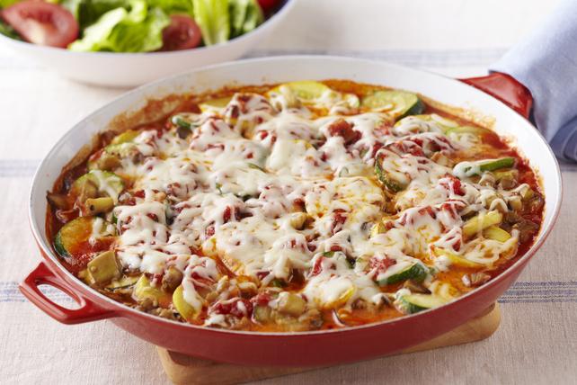 Poêlée de légumes façon lasagne Image 1