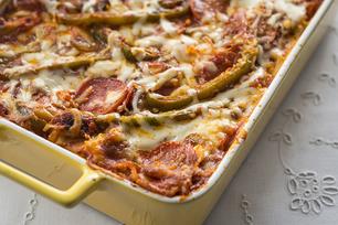 Pepperoni Pizza Lasagna