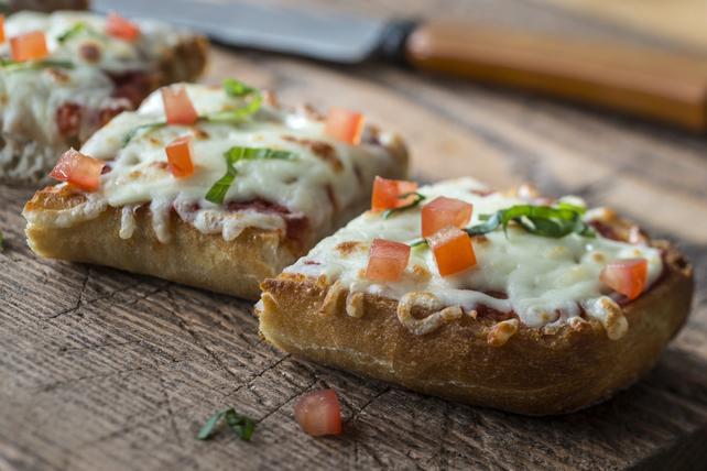 Pain à l'ail style pizza Image 1
