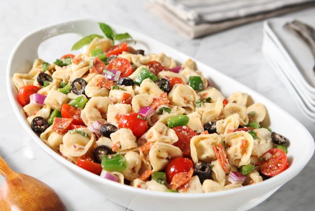 Tortellini & Mozzarella Salad Image 1