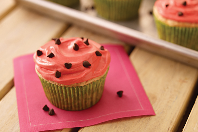 Cupcakes de sandía Image 1
