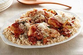 Arroz con pollo estilo italiano