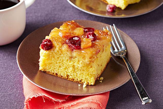 Pastel de manzana y arándanos rojos caramelizados Image 1