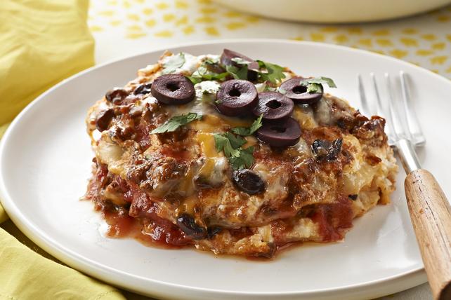Slow-Cooker Enchilada Lasagna Image 1