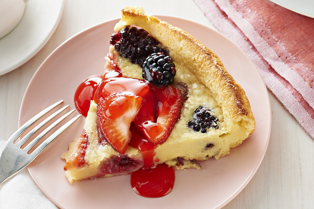 Fresh Berry Dutch Baby Pancake Image 1