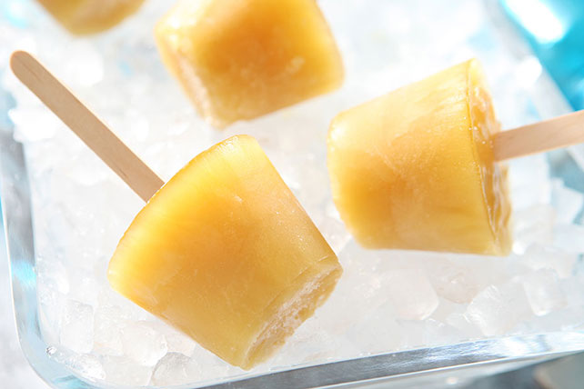 JELL-O Lemon and Tea Gelatin Pops Image 1