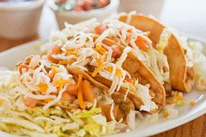 Crunchy Chicken Tacos
