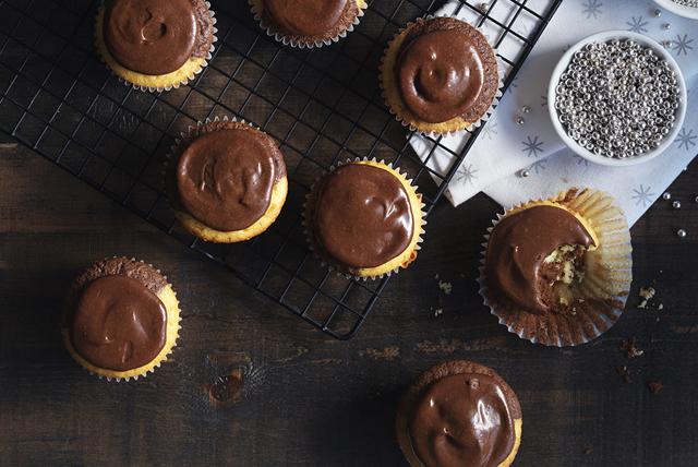 Petits gâteaux noir et blanc Image 1