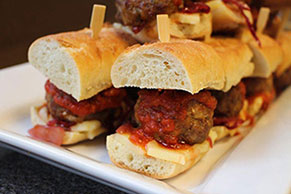 Mini Meatball Slider Appetizers