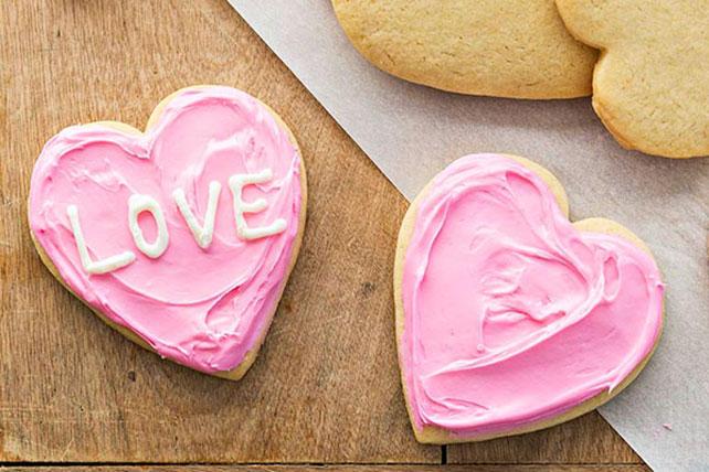 Valentine Conversation Heart Cookies Image 1