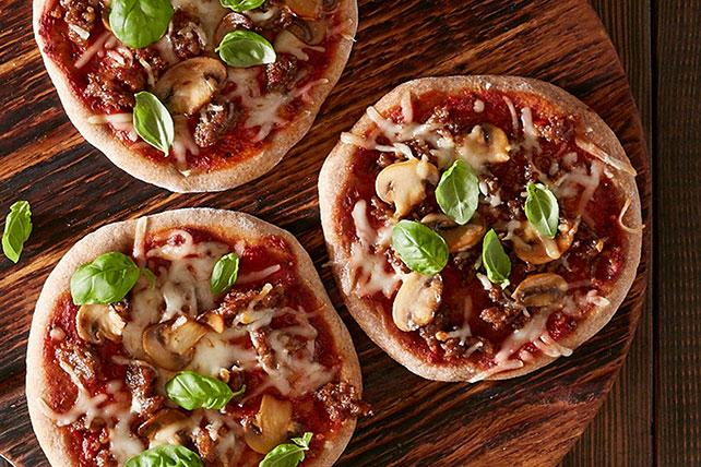 Sausage Mushroom Pizza Image 1